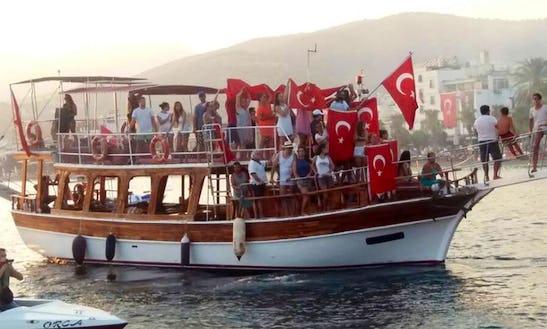 Enjoy The Best Views Of Mugla, Turkey On A Passenger Boat