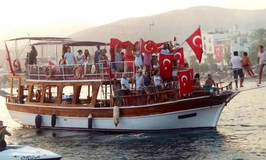 Enjoy The Best Views Of Mugla, Turkey On A Passenger Boat