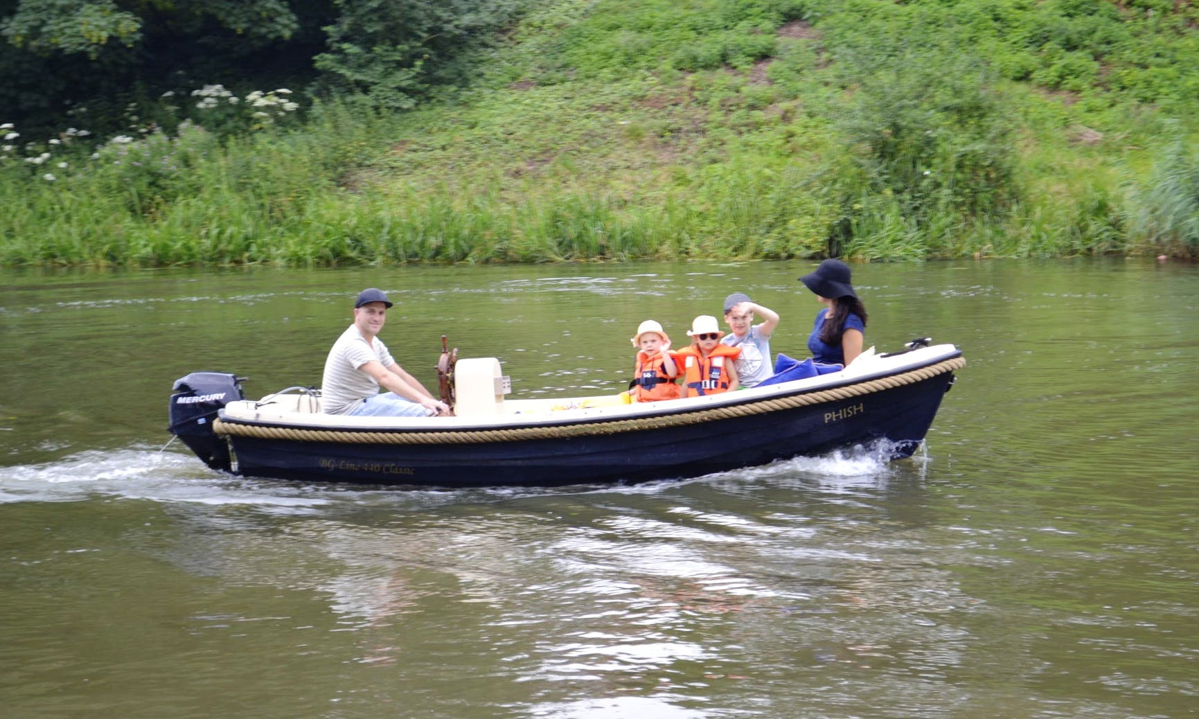 Enjoy your day on the water in Gelderland, Netherlands on this Canal Boat