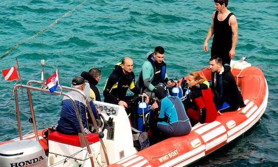 Enjoy Diving Trips In Zaklopatica, Croatia