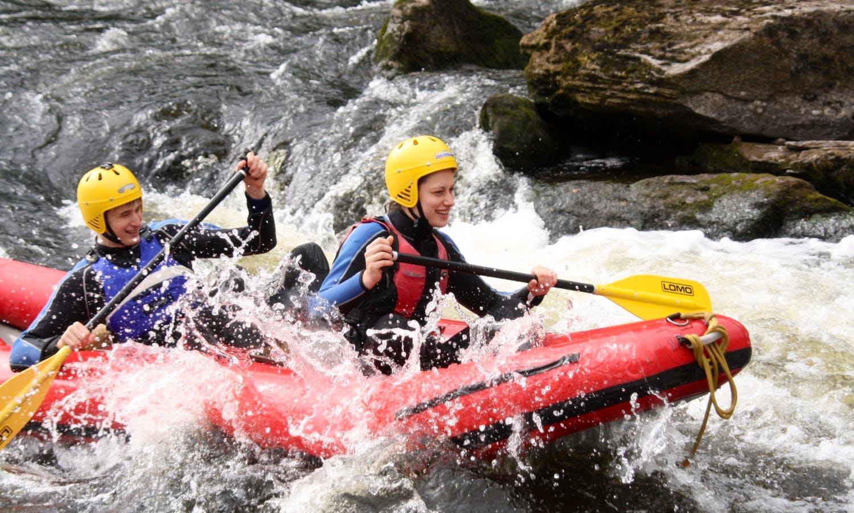 River Duckies Trip on River Tay in Scotland, United Kingdom