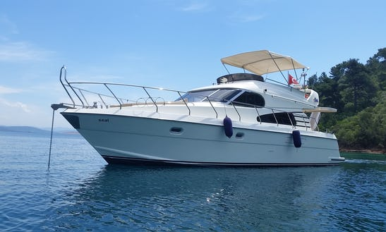 Charter 52ft Seal Motoryacht In Antalya Coast