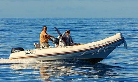 Rent 18' Rigid Inflatable Boat in Saint-Gilles, Réunion