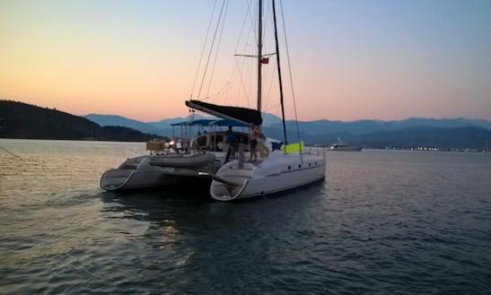 Charter 46' Fountaine Pajot Bahia Cruising Catamaran In MuÄŸla, Turkey