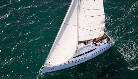 Charter 34' Sun Odyssey Cruising Monohull In Mugla, Turkey