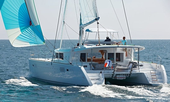Enjoy Sailing In Muğla, Turkey On This 45' Lagoon Cruising Catamaran