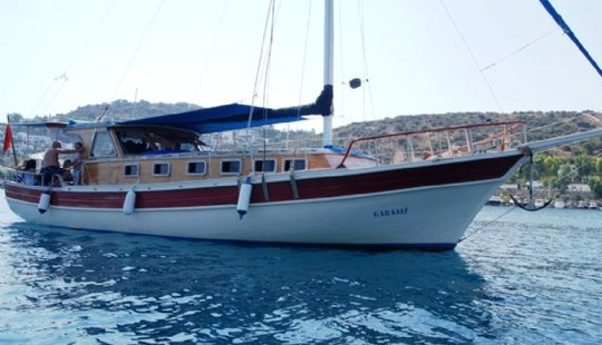 Charter 49' Gara Ali Gulet In Bitez, Muğla