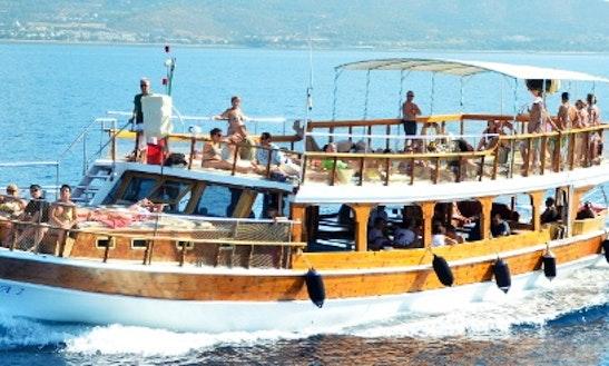 Charter Mira 2 Passenger Boat In Izmir, Turkey
