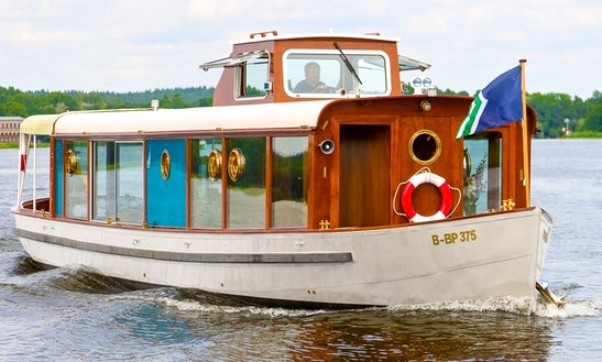 Ms Marple Salon Boat Rental In Berlin, Germany