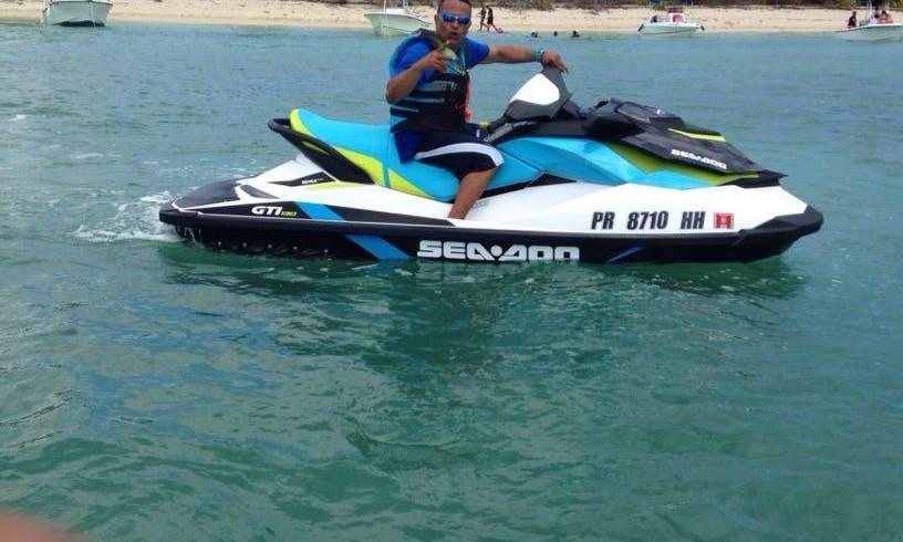 Ride this Gorgeous Seadoo Jet Ski in Cabo Rojo, Puerto Rico