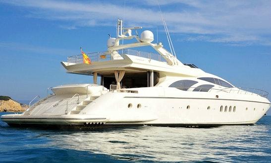 Azimut 98 Leonardo Power Mega Yacht Charter In Cabo San Lucas, Mexico