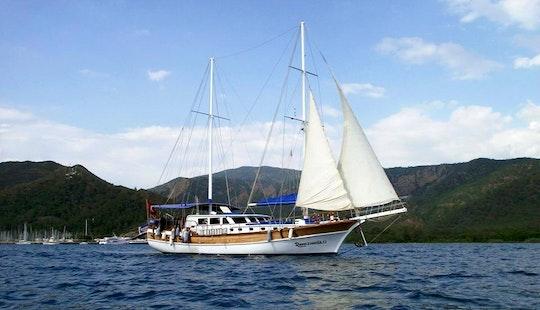 Charter 79' Ramazanoglu Sailing Gulet In Mugla, Turkey