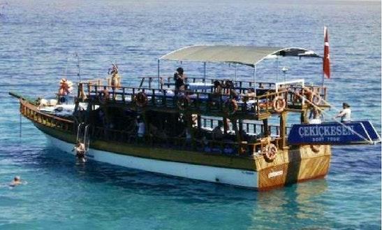 Enjoy Boat Trips In Aydın, Turkey On Passenger Boat