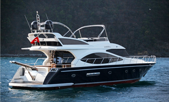 Charter 59' Power Mega Yacht In İstanbul, Turkey
