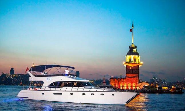 Charter 62' Power Mega Yacht in İstanbul, Turkey