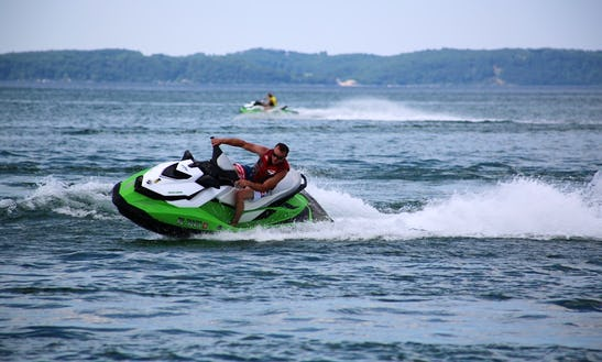 Jet Ski Rental With Delivery Service In Traverse City, Michigan