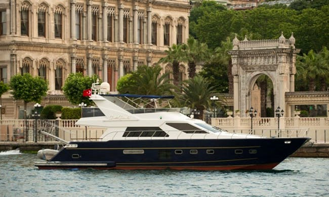 Charter 69' Power Mega Yacht in İstanbul, Turkey