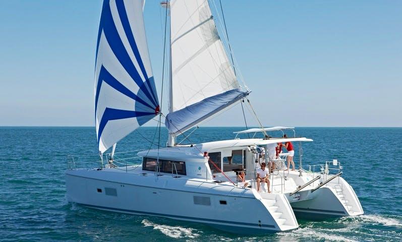 Charter 41' Lagoon Carmen Cruising Catamaran in Muğla, Turkey