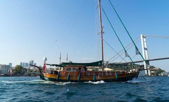Charter 66' Gulet In Istanbul, Turkey