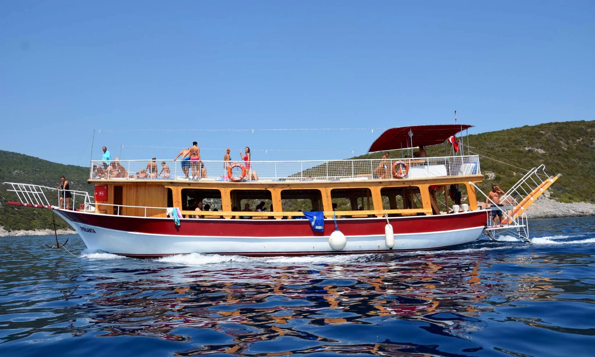 Enjoy The Amazing Views Of Izmir Turkey On This Passenger Boat Getmyboat
