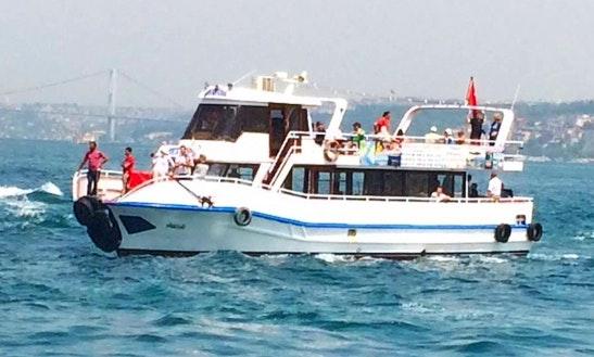 Enjoy Sightseeing In Istanbul, Turkey On Passenger Boat