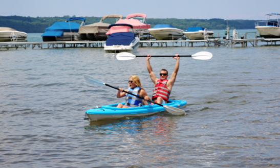 Double Kayak Rental In Traverse City, Michigan