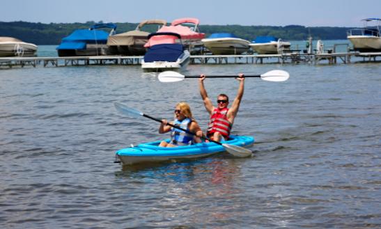 Double Kayak Rental In Traverse City, Michigan