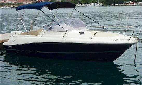 23ft Jeanneau Cap Camarat Power Boat In Trogir, Croatia