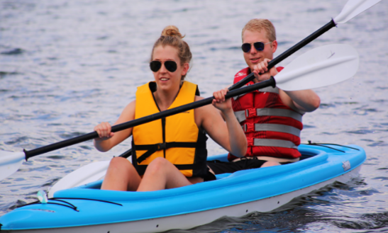 Enjoy Double Kayak Tour In Traverse City, Michigan