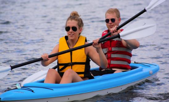 Enjoy Double Kayak Tour In Traverse City, Michigan