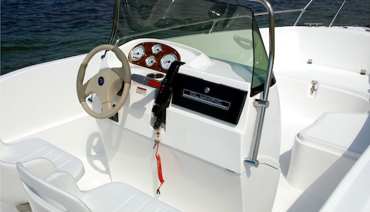 Rent 17ft Olympic 520 Center Console Boat In Lefkada