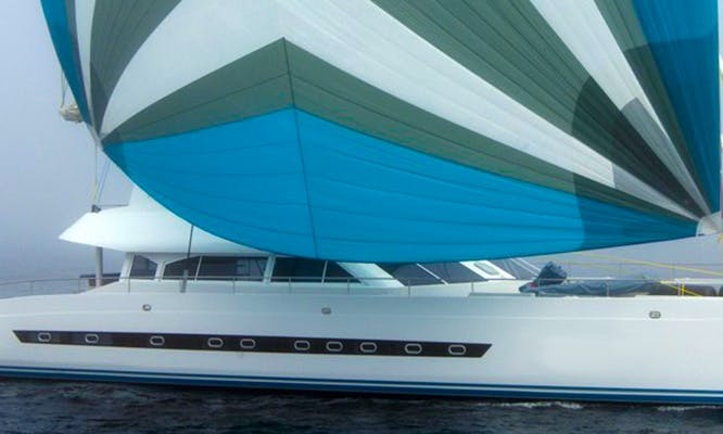 Charter 75' Open Ocean Cruising Catamaran in Cape Town, Western Cape