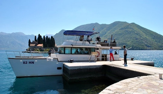 Power Catamaran Charter In Herceg Novi, Montenegro