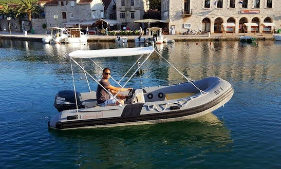 Rent A Maestral 420 Rigid Inflatable Boat In Dalmatia, Croatia