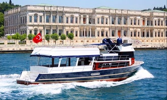 Explore İstanbul, Turkey with your Family and Friends on this Passenger Boat