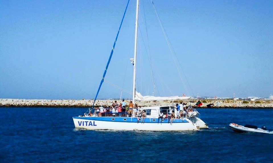 Enjoy Faro, Portugal on Vital Cruising Catamaran