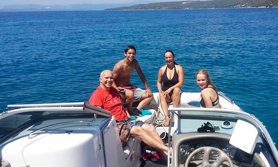 Enjoy The Summer In Split, Croatia Riding With This Bowrider