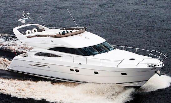 Charter 61' Princess Power Mega Yacht In Mumbai, Maharashtra