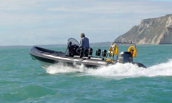 Charter Scimitar Rigid Inflatable Boat In West Lulworth, England