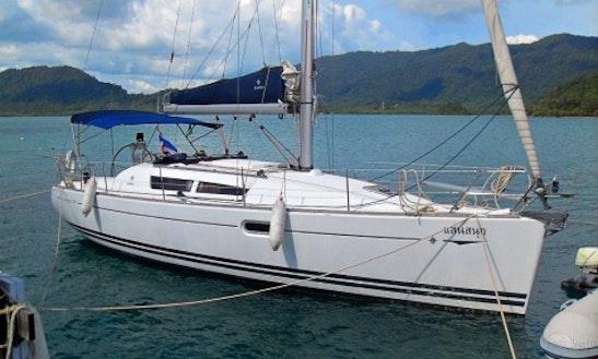 Charter 36' Jeanneau Sun Odyssey Cruising Monohull In Tambon Ko Chang, Thailand