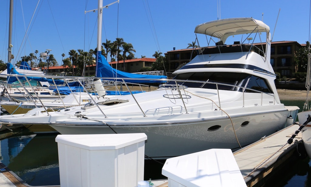 Charter 38 39 Trojan Bertram Motor Yacht In San Diego