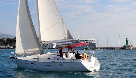 Charter 33' Jagoda Beneteau Oceanis Cruising Monohull In Split, Croatia