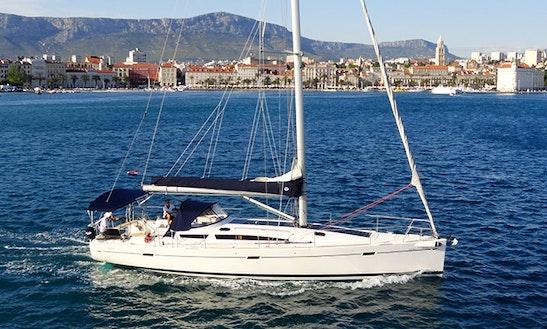 Charter 45' Adio Pameti Elan Cruising Monohull In Split, Croatia