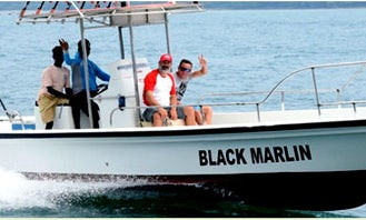 Enjoy Fishing in Port Blair, Andaman and Nicobar Islands on 30' Center Console