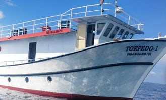 Enjoy Fishing in Port Blair, Andaman and Nicobar Islands on 62' Trawler