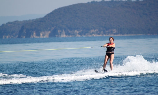 Water Skiing In Punta Ala