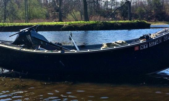 Enjoy Fishing In Oswego, New York On 17' Willie Drift Boat