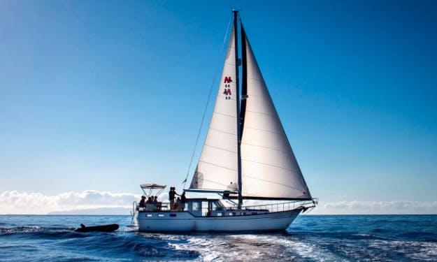 Charter 44' Nauticat 44 Gulet in Funchal, Portugal