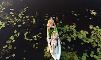 Enjoy Double Kayak Rentals in Kandava, Latvia