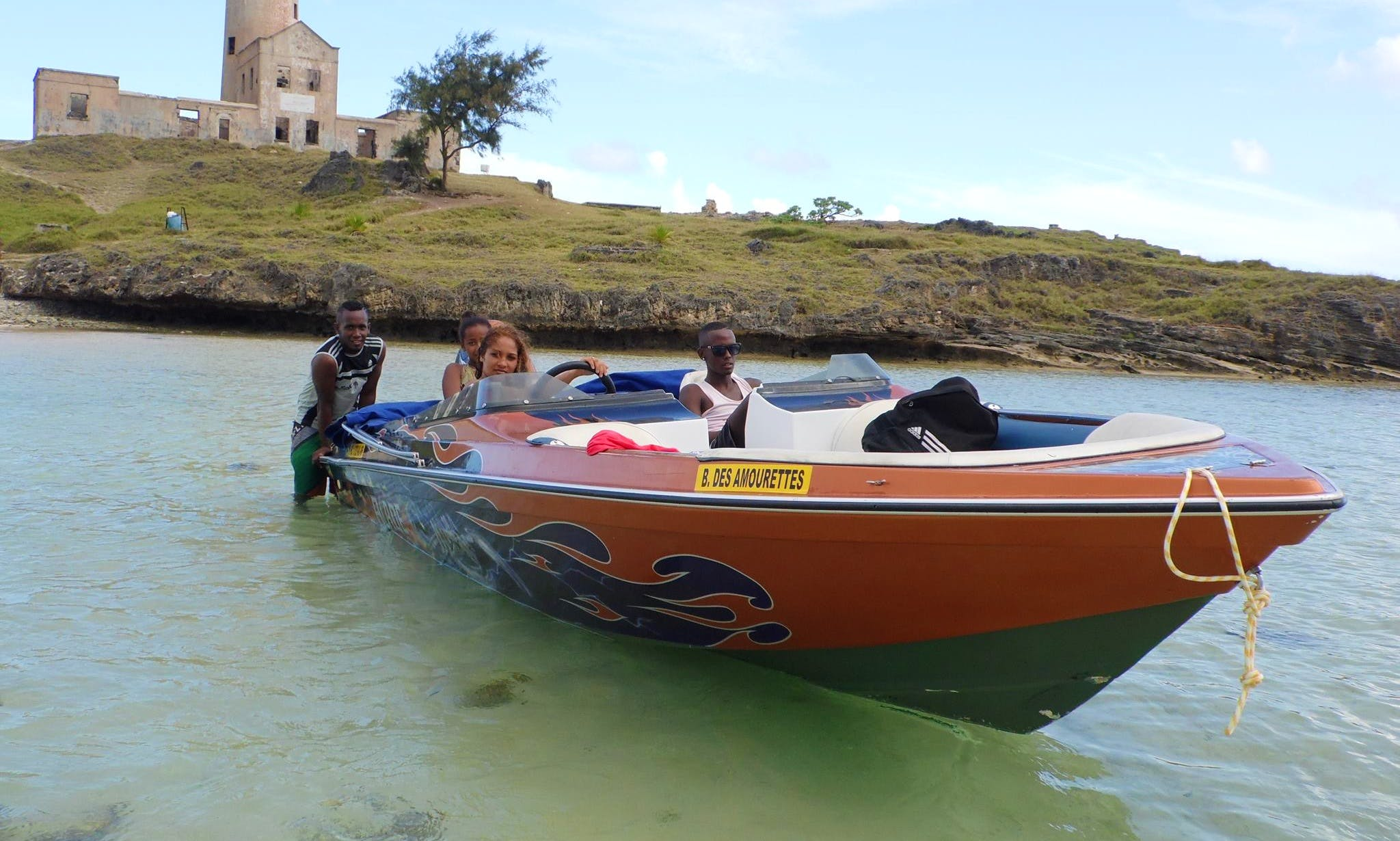 Charter Blade Bowrider in Grand Port, Mauritius